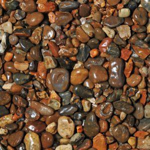 blue water pebbles