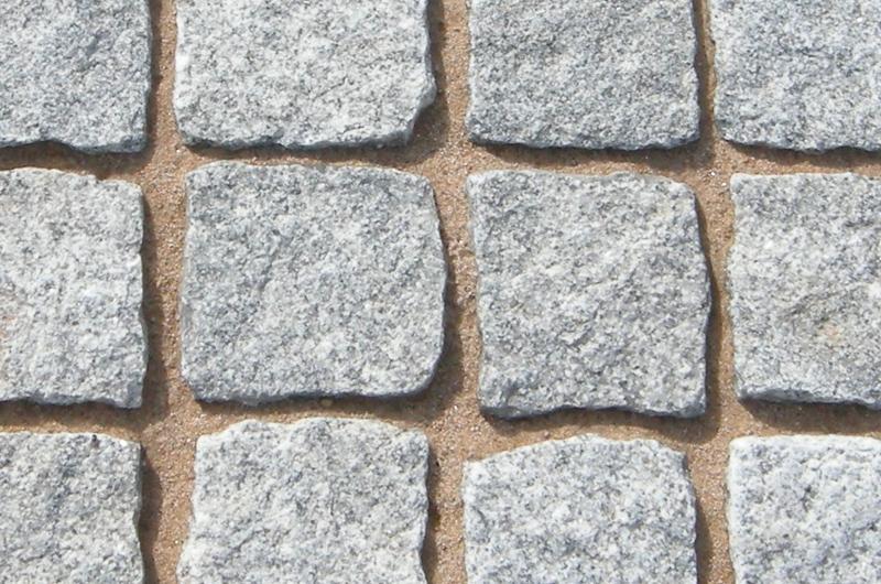 Silver Granite Setts Border Aggregates Scotland